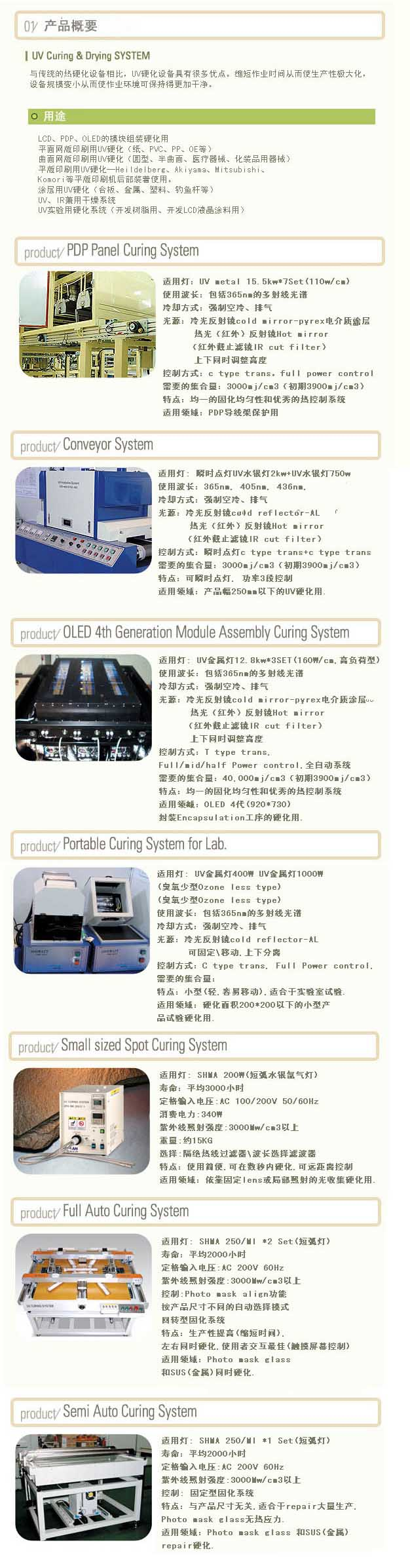 UV Curing&Drying System
